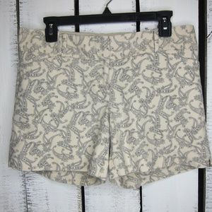 The Limited Paisely Shorts Size 8